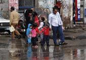 بالصور.. احتفالات في الشوارع بالأمطار
