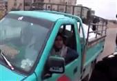 المرور تستوقف سيارة نقل يقودها طفل 10 سنوات
