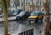 أمطار غزيرة بالإسكندرية تتسبب في ارتباك حركة المرور