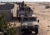 الجيش يواصل تضييق الخناق على الارهابيين فى سيناء ويقضي عليهم