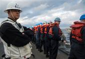 بالصور- تدريبات الأسطول السادس في البحر المتوسط