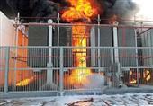 حريق هائل بمحطة الكهرباء الرئيسية في الفيوم