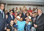 بالصور- وزارة الرياضة تكرم منتخبي مصر لكمال الأجسام ورفع الأثقال