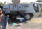 إصابة ضابط و5 مجندين في تفجير العريش