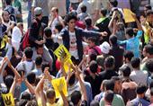 مشارك بمسيرة إخوانية يصيب سائق
