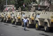 """قوات التدخل السريع تصل """"رابعة العدوية"""" ونشر 18 آلية عسكرية"""