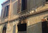بالصور.. مجهولون يلقون مواد حارقة داخل نادي القضاة في السويس