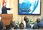 موقف محرج يتعرض له وزير النقل أثناء شرح بناء ميناء الغردقة الدولى أمام الرئيس السيسى