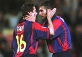 تشافي: أتمنى السير على خطى جوارديولا وتدريب برشلونة