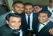 بالصور- نجوم الرياضة في حفل زفاف أحمد حمودي