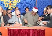 وكيل الأزهر يشارك أهالي بورسعيد احتفالهم بالعيد القومي