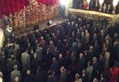 محلب يكرم عمالقة المسرح المصري خلال افتتاح المسرح القومي