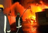 السيطرة على حريق شب في أتوبيس خاص بكنيسة في الدقهلية