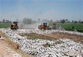إزالة 20 حالة إشغال طريق و26 تعدِ على أراضِ زراعية في حملة مكبرة بالأقصر.