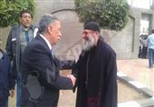 بالصور.. مدير أمن القاهرة يتفقد كنائس العاصمة قبل أعياد الميلاد