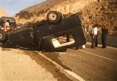 إصابة ضابط و4 مجندين في انقلاب سيارة أمن مركزي بصحراوي البحيرة
