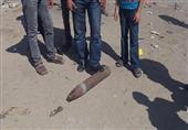 أمن سيناء يضبط عبوتين ناسفتين قبل تفجرهما ودانة مدفع برفح