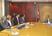 مصر تبحث التنسيق مع شركة ألمانية لإقامة معرض تجارى عالمي