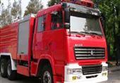 16 سيارة إطفاء لإخماد حريق