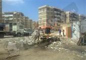 بالصور- رفع أطنان من القمامة بضواحي بورسعيد