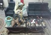 ضبط 4 أشخاص بدشنا بتهمة حيازة أسلحة ومخدرات وسرقة سيارات