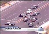على طريقة الأكشن.. مطاردة جنونية بين سيدة وشرطة كاليفورنيا