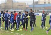 مران الأهلي استعدادا للقاء الزمالك في قمة الدوري