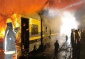 ضبط المتهمين بحرق قطار منوف وقطع طريق صراوة بالمنوفية