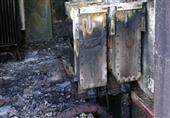 إخماد حريق فى كشك للكهرباء بمركز جهينة بسوهاج