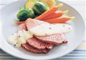 طريقة عمل لحم بالصلصة البيضاء