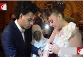 ماذا قدم أوكا لمي كساب في حفل الزفاف؟