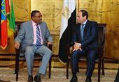 السيسي ورئيس وزراء أثيوبيا يتفقان على مبادرة بشأن سد النهضة.. والبدء فورا