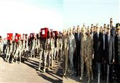 محلب ووزراء الدفاع والداخلية والشباب يتقدمون جنازة ضحايا الحادث الارهابي بسيناء