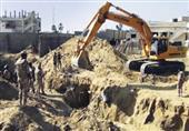 الجيش يدمر أحد أكبر الأنفاق الحدودية بين مصر وغزة
