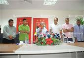 المؤتمر الصحفي لزيزو للإعلان عن الجهاز الفني