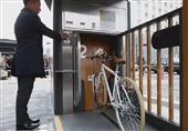 """بالفيديو - في اليابان اركن دراجتك بأمان """"تحت الأرض"""""""
