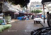 بالصور - سقوط الأمطار على كفرالشيخ..واستمرار الملاحة بميناء البرلس