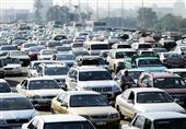 شلل مروري بالدائري إثر انقلاب سيارتين