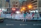 """مسيرة بالسيارات تجوب شوارع الإسكندرية لدعم قائمة """"فى حب مصر"""""""