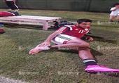 كدمة في القدم تمنع كهربا من استكمال المران