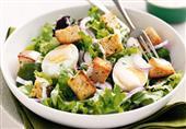 إفطار اليوم: سلطة البيض و الخس