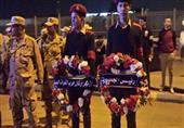 بالصور.. بدء تشبيع جثمان قتيلي القوات المسلحة بالإسماعيلية