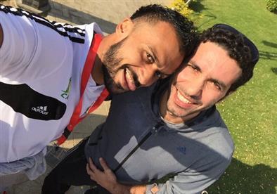 """أبو تريكة وإبراهيم سعيد.. """"اجتمع الشامي على المغربي"""" (تقرير)"""