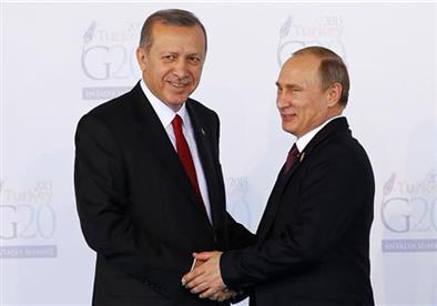 الكرملين: أردوغان طلب عقد لقاء مع بوتين على هامش قمة المناخ في باريس