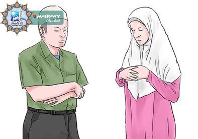 هل يجوز صلاة الرجل مع امرأته في جماعة؟
