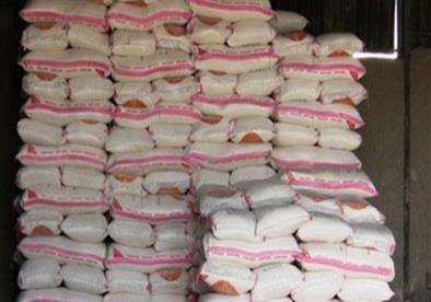 ضبط 7 أطنان أرز مجهولة المصدر في الغربية