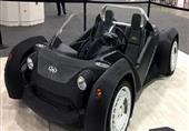 أول سيارة كهربائية مصنوعة بطابعة ثلاثية الأبعاد - صور