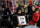 بالصور- دموع وأبناء يتامى بملعب التتش في ذكرى