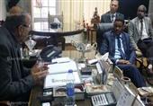 الأهلي يستقبل وزير الرياضة السوداني ويهديه درع النادي