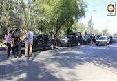 إصابة مقدم شرطة فى حملة أمنية على